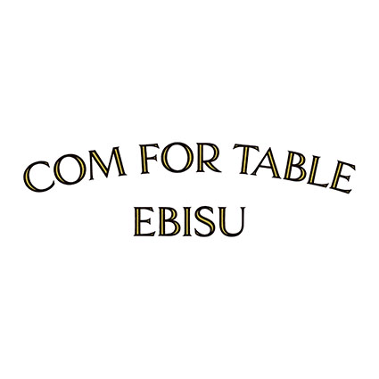 COM FOR TABLE EBISU